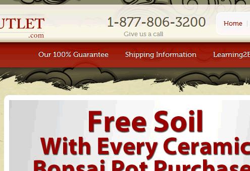 BonsaiOutlet AbleCommerce Custom Development