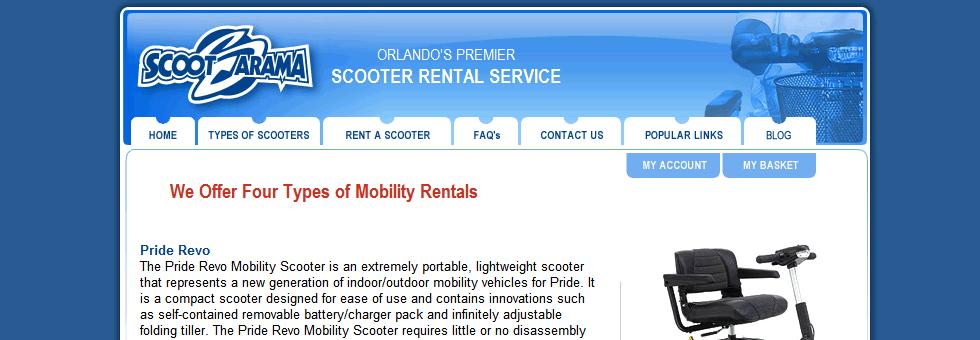 Orlando Scooter Rentals Image